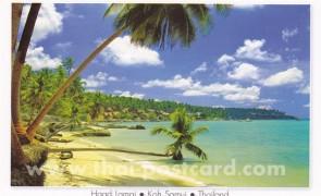 โปสการ์ด เกาะสมุย เกาะนางยวน